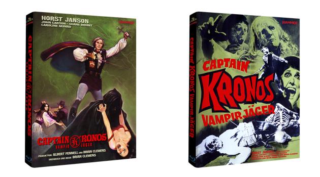 captain kronos mediabook