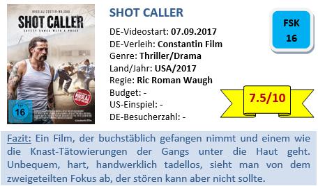 Shot Caller - Bewertung