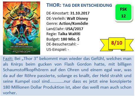 Thor 3 - Bewertung