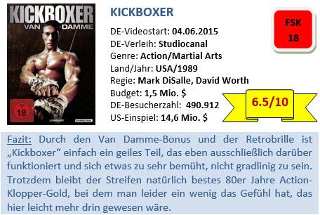 Kickboxer - Bewertung