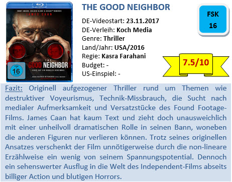 The Good Neighbor - Bewertung