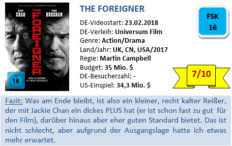 The Foreigner - Bewertung