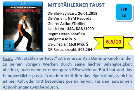 Mit stählerner Faust - Bewertung