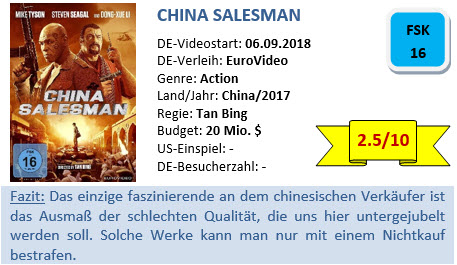 China Salesman - Bewertung