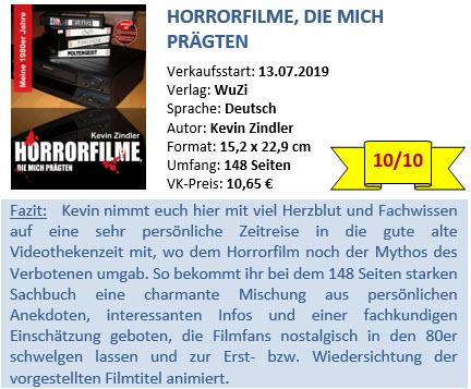 Horrorfilme die mich prägten - Bewertung