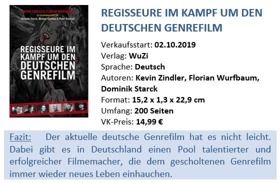 Buch - Regisseure im Kampf um den deutschen Genrefilm - Berwertung