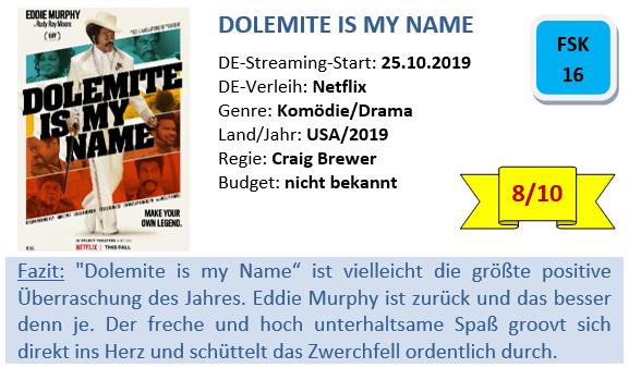 Dolemite is my Name - Bewertung