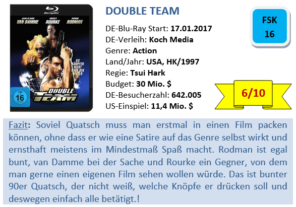 Double Team - Bewertung
