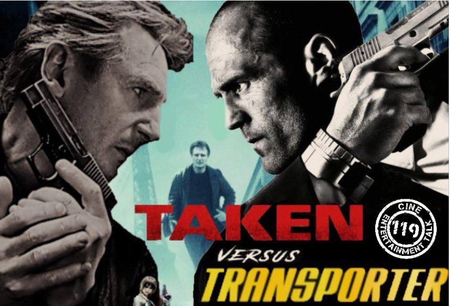 Taken vs. Transporter - Banner
