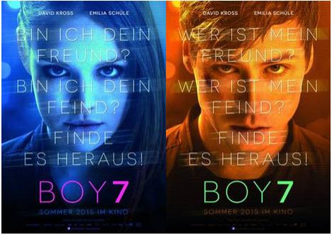 Boy 7 - Plakat