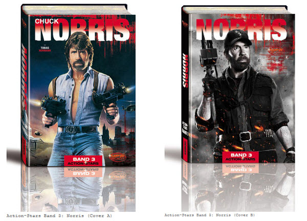 Action Stars Band 3 - Chuck Norris - Banner