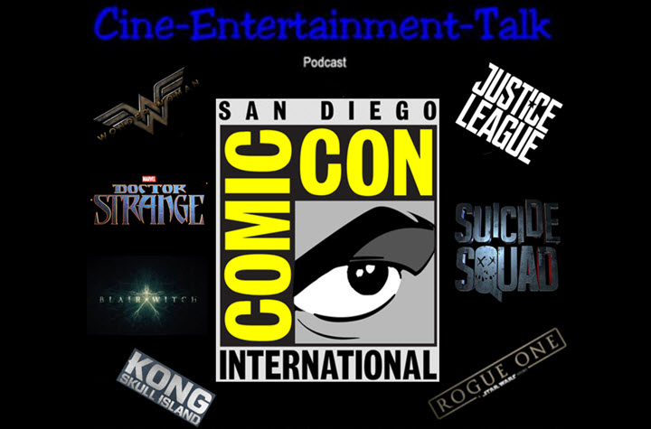 Podcast - Comic Con 2016 - Banner