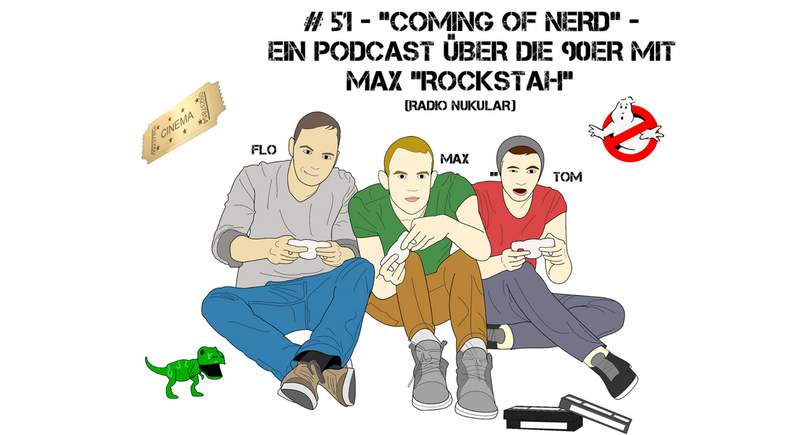 Coming of Nerd - Podcast Banner 2