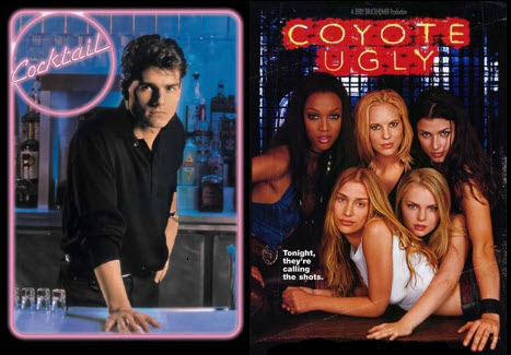 Cocktail vs CoyoteUgly - Banner