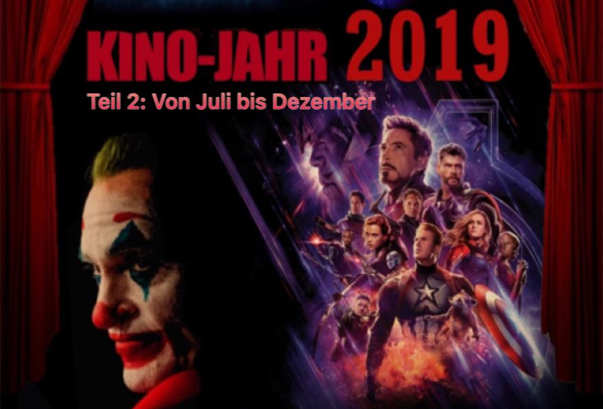 Kinojahr 2019 - Teil 2 - Banner